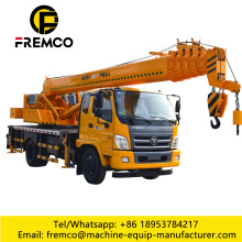 12 Ton Small Truck Cranes Mini Type