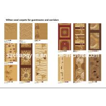 Maschine gemacht Wilton Heatset PP Hotel Carpet Rolls