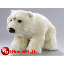 Hot! white polar bear plush toy