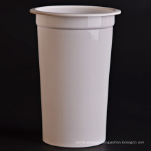 Plastic Cup Printed (Milky White) for Sealing Machine