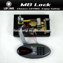 2015 nueva cerradura de caja fuerte electrónica con mecanismo motorizado sistema de bloqueo