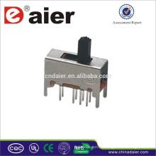 Mini Schiebeschalter SS23D03 in China wasserdichte Schiebeschalter gemacht