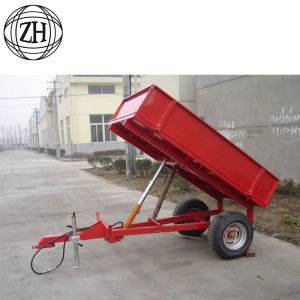 Red Small Tractor Trailer 1-8Tons
