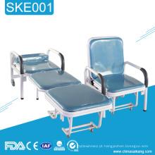 SKE001 Pacientes Hospitalares Dobrável Acompanha Cadeira