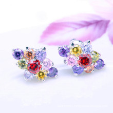 2018 new arrival newest hand made Multicolor stud earrings