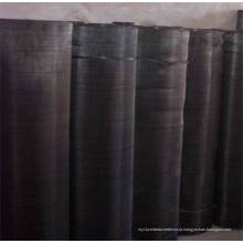 Black Wire Mesh Cloth / Iron Screen Filter Disc