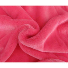 Tissu en flanelle de coton brossé à large bride