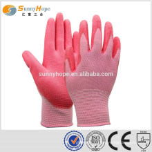 13g seamless pu coated gloves
