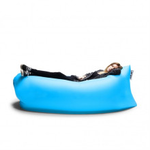 Nylon Fabric and Air, 100%Nylon Ripstop Filling Inflatable Hangout Sleeping Bag
