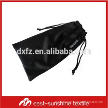 screen logo printed custom microfiber fabric phone cleaning pouch bags