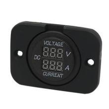 Marine/Car DC Voltmeter with Red LED Digital Meter
