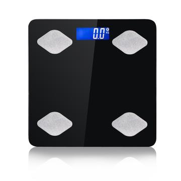 Pèse-personne numérique de 200 kg pour salle de bain intelligente