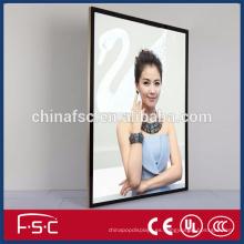 Inversor de 220v CA o luz de fondo led cartel magnético marcos caja ligera
