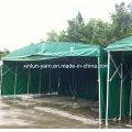 Tela impermeable de la lona del PVC para la cubierta de la tienda / del tabernáculo / del camión