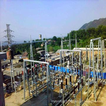 110kV Steel Pipe Power Transmission Substation Architecture
