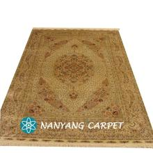 6'x9' Handwoven Pure Silk Persian Style Rug