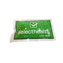 Биоразлагаемые влажные салфетки для ухода за кожей в индивидуальной упаковке
