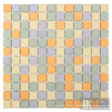 Top Sale des feuilles de carreaux de mur de mosaïque en céramique