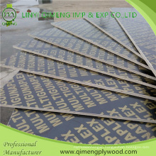 Linyi Produce Construction 12mm 15mm 18mm Film Faced Shuttering Plywood