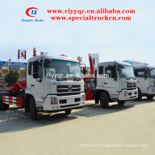 Dongfeng kingrun container removable garbage truck for sale