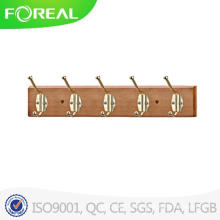 Wall Mounted Foldable Wooden Hat Hooks