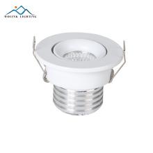 La iluminación ahuecada de calidad superior de 3w 5w abajo para la cocina llevada blanca puede accesorios de iluminación