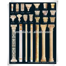 Ménsulas de roble tallado en madera
