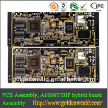FR4 HASL surface rigid pcb usb hub pcb