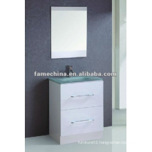 glass basin MDF Bathroom Vanity