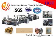 high speed automatic carton folder gluer and stitcher