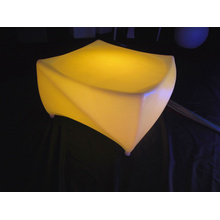 Moderna decoración impermeable LED muebles de vidrio de mesa (g002)