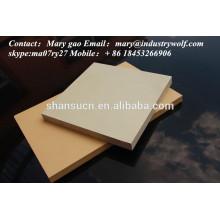 Panneau expulsé de mousse de PVC pour l'impression / gravure / planche à découper / fabricant de carte de circuit imprimé / feuille d'uhmwpe /