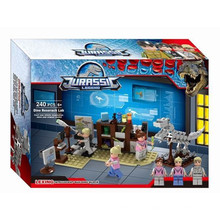 Boutique Building Block Toy pour Jurassic Legend Dinosaur Escape 07