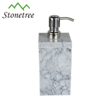 Distributeur de savon liquide en marbre