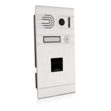 IP64 Waterproof Wi-Fi Tuya App Fingerprint Video door Phone intercom mobile phone control