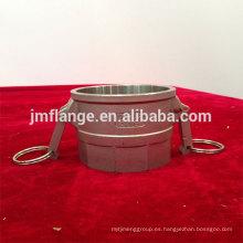 Acoplador de acero inoxidable 304 / 316l D hembra