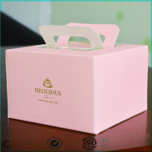 Pink Paper Cake Boxes Packaging Wholesale