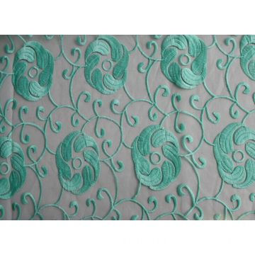 Sequin Embroidered Fabric, Customized Designs are Accepted