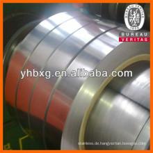 Gute Qualität 304L 0,08 mm dicker Streifen für die Herstellung von Schlauch