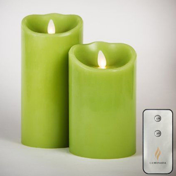 luminara candle with remote control