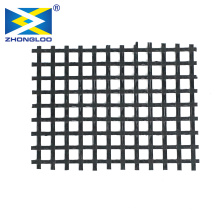 Factory Price Warp Knitted Polyester PET Geogrid 150kn For reinforce the soft soil roadbed of municipal road