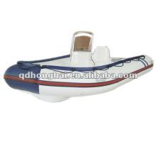 casco de fibra de vidrio barco de la costilla HH-RIB350 con CE