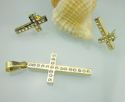 High Quality Stainless Steel Cross Jewelry Set/ Fashion Jewelry Sr039-1, Fashion Accessories Jewelry Sets (SR039-1)