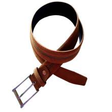 Cinto de couro de fivela de ferrão de homem Pin (HJ0049)
