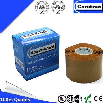 Adhesion to Copper, Aluminum, and Cable Jackets Mastic Tape