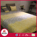 Alibaba hot sell polyester microfiber bed sheet set with zipper,5pcs microfiber duvet cover