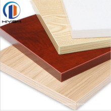 HIYI good quality commercial melamine laminated plywood for furniture