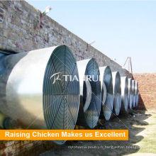 Système automatique de contrôleur d'environnement de ferme de volaille de maison de poulet de Tianrui