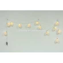 Battery Christmas lighted led string light ornamnet