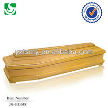 Chinese supplier direct sale European traditionary coffin